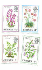 Jersey 1972 Wildflowers set mnh