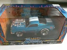 1:24 Muscle Machines | 1966 Ford Mustang (Blue)