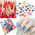 36 Pots UV Gel Pure Colors Nail Art Tips Shiny Cover Extension Manicure Decor