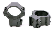 "Medium 30mm Scope Rings Ring High Power Airgun Air Rifle 3/8"" dovetail 11mm Base"