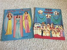 Antique Vintage Orig Hour Of Charm Uncut Paper Doll Lot Hollywood WWII Era