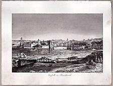 Marseille - Gesamtansicht - Kupferstich von Jos. Neumayer um 1835
