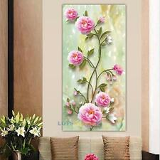 DIY 5D Diamond Flower Embroidery Painting Cross Stitch Kit Home Wall Decoration