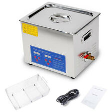 10L Ultrasonic Cleaner 240W UC + 250W Heater Industrial Parts Carb Carburetor