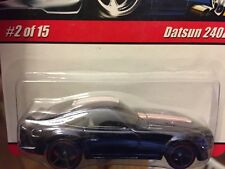 Hot Wheels MODERN CLASSICS Black DATSUN 240Z