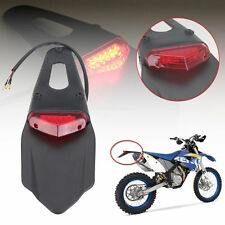 Motorcycle Rear Fender Tail Light Enduro Stop For CRF KTM EXC WRF 250 400 426