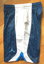 Jordan S Flight Basketball Shorts Dri-Fit French Blue Boys Size M NEW