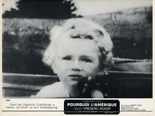 CHARLES LINDBERGH POURQUOI L AMERIQUE FREDERIC ROSSIF 1969 VINTAGE LOBBY CARD #2