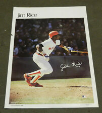 "1978 Sports Illustrated Poster Jim Rice Measures 24"" X 36"""