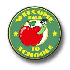 Welcome Back To School 1 Inch / 25mm Pin Button Badge Reunion Geeks Nerds Class