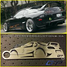Toyota Supra MK4 wing JDM Stainless Steel Custom Key chain TRD