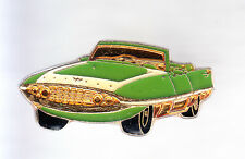 RARE PINS PIN'S .. AUTO CAR ANCIENNE OLD 1950 AMERICAINE USA CABRIOLET VERT ~CQ