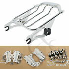 2 Up Air Wing Luggage Rack 4 Point Docking For Harley Touring Electra Road Glide