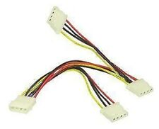"NEW MOLEX 5.25"" 4 PIN POWER SPLITTER - 1 TO 3 WAY CABLE"