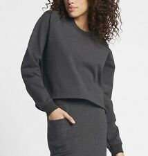 NikeLab Essentials Fleece Women's Crew Sweatshirt (XS) 848735 010