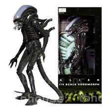 "22"" ALIEN figure 1/4 SCALE XENOMORPH 1979 big chap OPEN MOUTH VERS aliens NECA"