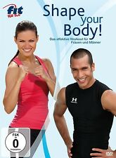 FIT FOR FUN - SHAPE YOUR BODY! DVD FITNESS NEU