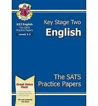 KS2 English SATS Practice Paper Pack - CGP Books
