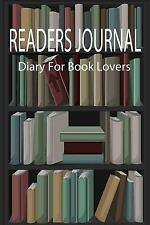 Reading Journals: Readers Journal : Diary for Book Lovers : Blank Readers...