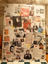 Johnny Cash Collage Art Canvas