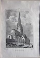 1838 SAINT MENOUX EGLISE Deroy Courtin Achille Allier Desrosiers Souvigny