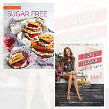 Sugar Free and I Quit Sugar 2 Books Collection Set By Sarah Wilson Brand NewPack