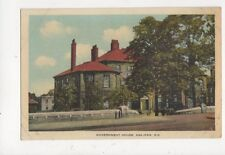 Government House Halifax NS Vintage Postcard Canada 515a