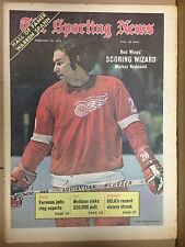 The Sporting News: Red Wings' SCORING WIZARD Mickey Redmond February 10, 1973