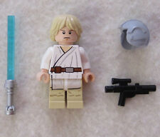 NEW LEGO STAR WARS LUKE SKYWALKER MINIFIG from 7965 figure minifigure