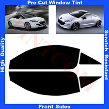 Pre Cut Window Tint  Peugeot RCZ  2 Doors Coupe 2009-... Front Sides Any Shade