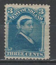 NEWFOUNDLAND 1880 QV 3C