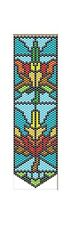 Fall Leaves~Pony Bead Banner Pattern Only