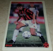 CARD JOKER 1994 MILAN LAUDRUP CALCIO FOOTBALL SOCCER ALBUM
