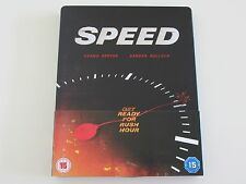 Rare Speed Limited Edition Steelbook Blu-ray OOS Keanu Reeves Sandra Bullock