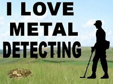 NEW- I LOVE METAL DETECTING KEYRING - DETECTOR KEYRING, GREAT GIFT.