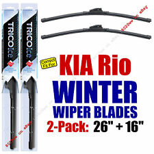 WINTER Wipers 2-Pack Premium Grade - fit 2012-2016 Kia Rio - 35260/160