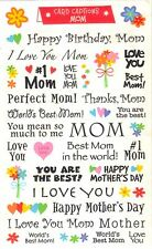 *MOTHER CAPTIONS* MRS GROSSMAN'S PHRASE STICKERS Birthday Mother's Day Best Mom