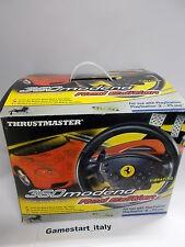 VOLANTE THRUSTMASTER 360 MODENA + GRAN TURISMO (PS1 PS2) USATO COME DA FOTO