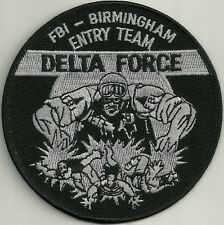 Fbi: delta force SWAT Alabama birmingham entry Team Police Patch SEK policía