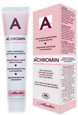 ACHROMIN Whitening Lightening Face Cream  Anti dark age spots freckles 45 ml