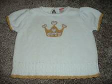 Baby Infant Girls Gymboree Royal Gardens Sweater Top Shirt Size 18-24 months mos