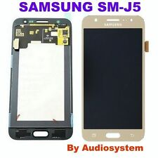 GLS: DISPLAY LCD+TOUCH SCREEN ORIGINALE per SAMSUNG GALAXY J5 SM-J500FN ORO GOLD