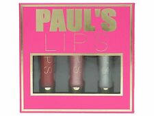 Paul'S BOUTIQUE Lip Gloss Set contiene 8 ml-confezione da 3 Set Regalo Nuovo di Zecca