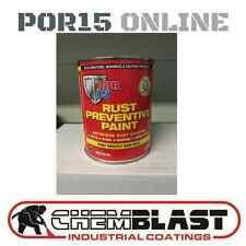 Por 15 Rust Prevention Paint 1LITRE BLACK