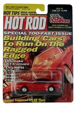 Racing Champions ~HOT ROD~ `68 Chevy Camaro Issue #5