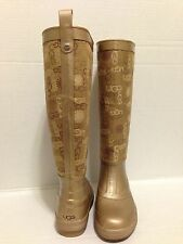 NEW UGG WALLINGFORD WOMEN'S RAIN BOOTS, Sz 5