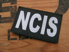 "Patch Velcro "" NCIS "" noir - Humour série Airsoft moto gilet tactique swat inter"