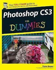 Photoshop CS3 for Dummies by Peter Bauer (2007, Paperback)
