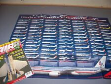 VINTAGE..2008 JOHN F. KENNEDY AIRPORT AIRCRAFT POSTER INSERT .......RARE! (376J)