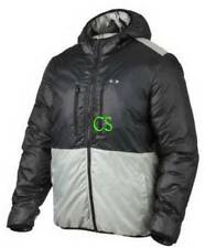 NWT $200-Mens Oakley Gray Reversible Hydrofree Generate Winter Puffer Jacket- XL